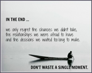 IN THE END REGRETS
